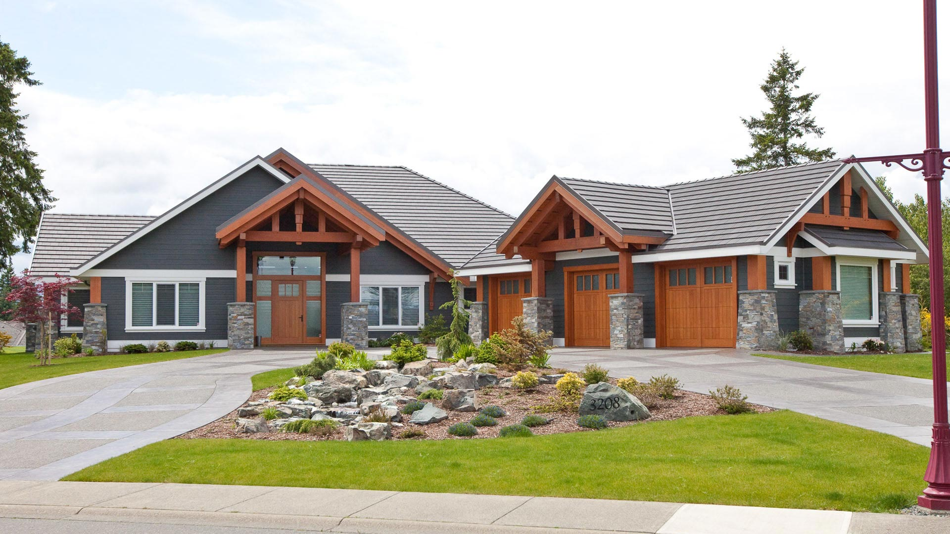 Crown Isle Hybrid Rancher Island Timber Frame