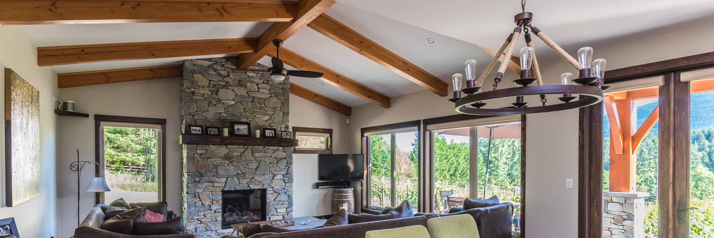 Enjoy A West Coast Timberframe Look On A Modest Budget