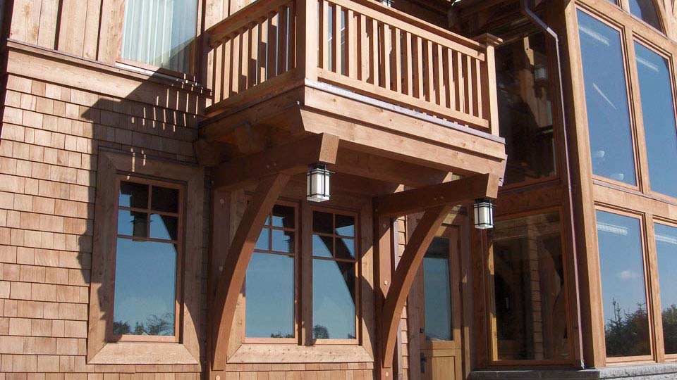 Classic Timber Frame Island Timber Frame