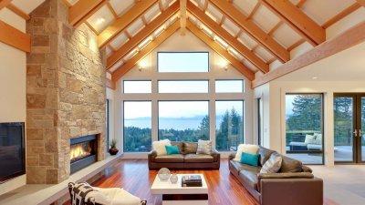 Contemporary Farmhouse Timber Frame