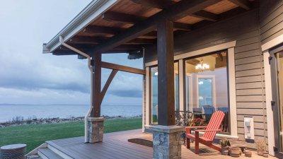 Timberframe Deck
